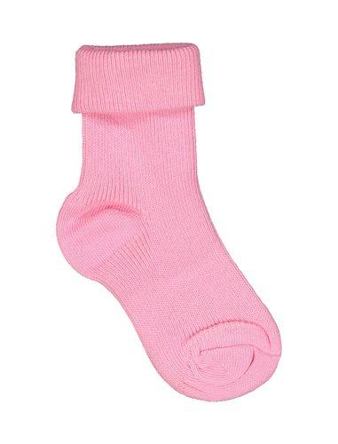 جوراب نخی ساده نوزادی دخترانه