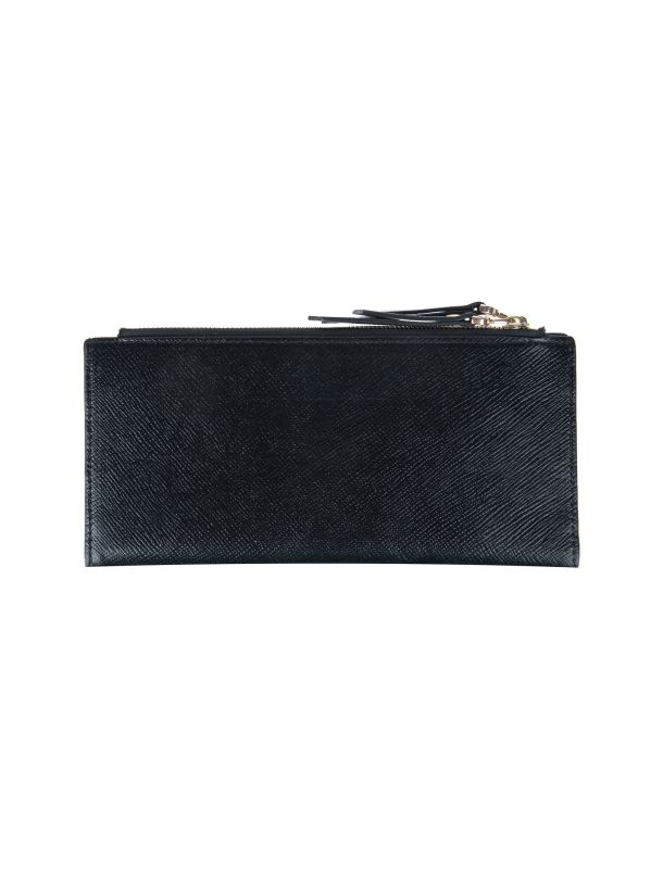 کیف پول چرم زیپ دار زنانه
