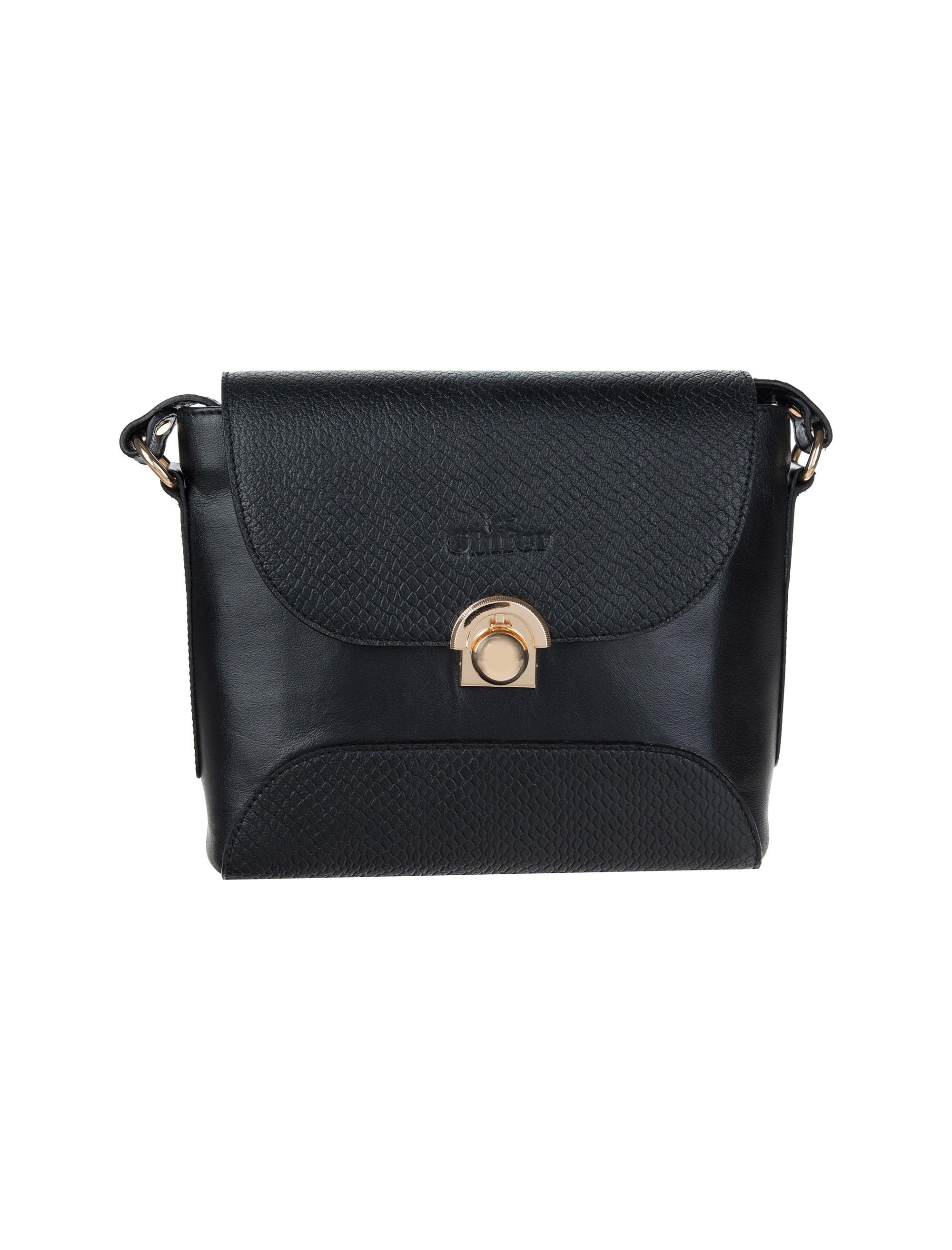 کیف دوشی چرم روزمره زنانه - شیفر