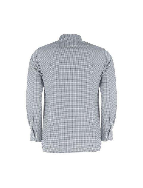 پیراهن آستین بلند مردانه - پاتن جامه - مشکي و سفيد - 2