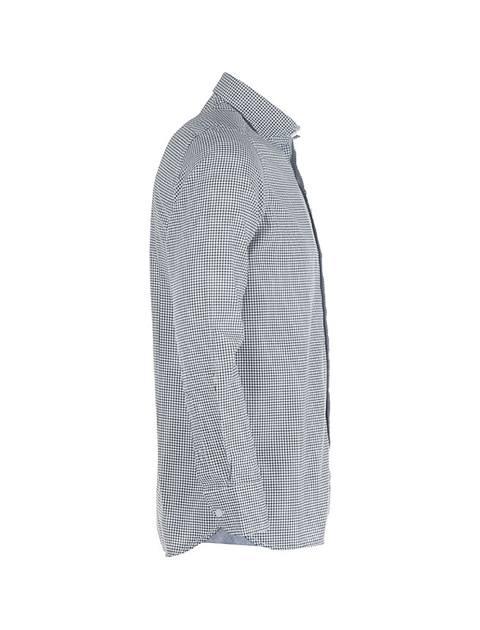 پیراهن آستین بلند مردانه - پاتن جامه - مشکي و سفيد - 3