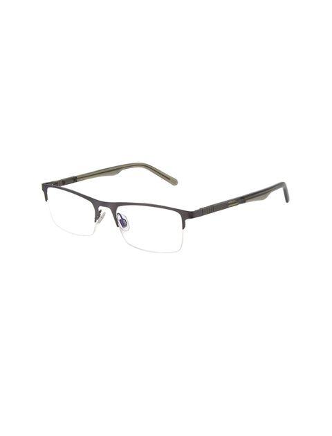 عینک طبی مستطیلی مردانه - طوسي - 1