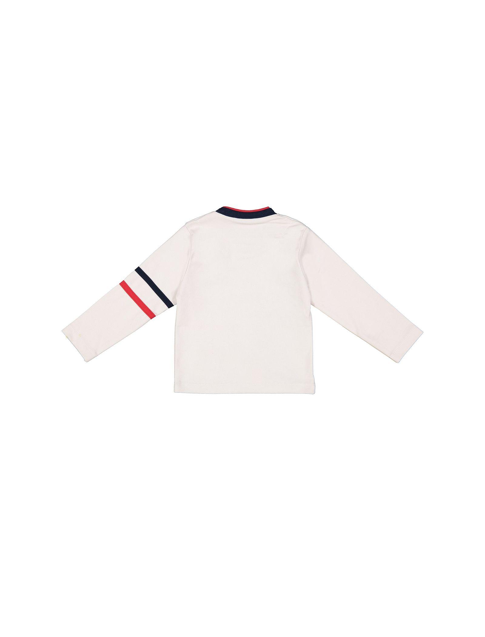 تی شرت نخی یقه گرد پسرانه - سون پون - طوسي روشن - 2