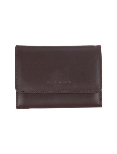 کیف پول چرم دکمه دار زنانه
