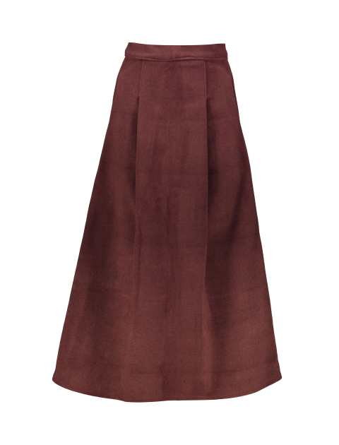 دامن پشمی بلند زنانه