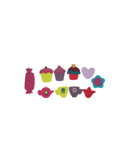 اسباب بازی حمام نوزادی بسته 10 عددی - چند رنگ - 1