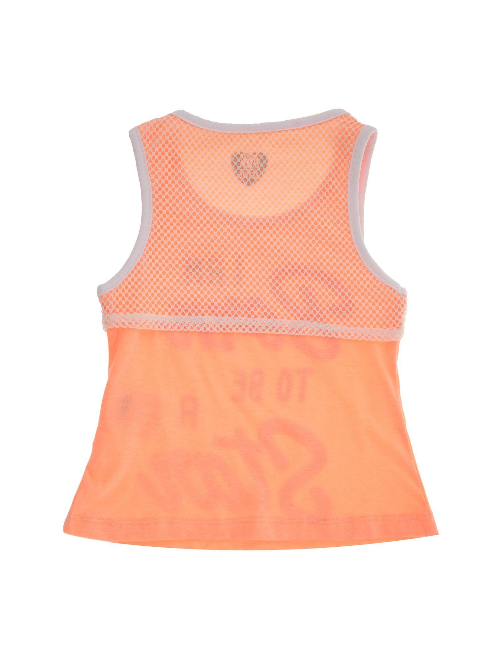 تاپ و شلوارک دخترانه - بلوکیدز - نارنجي و مشکي - 6