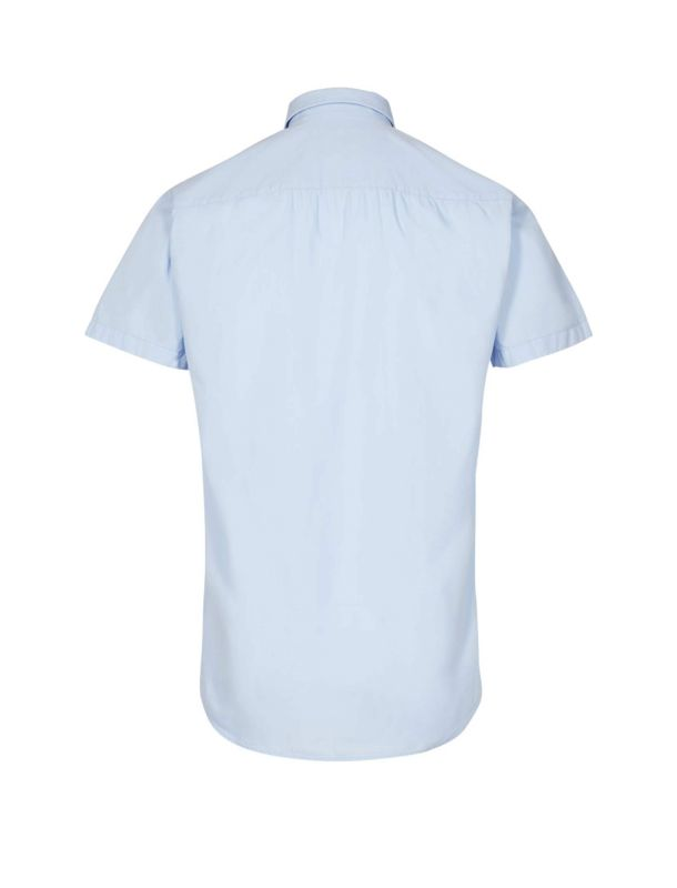پیراهن نخی آستین کوتاه مردانه Hannibal