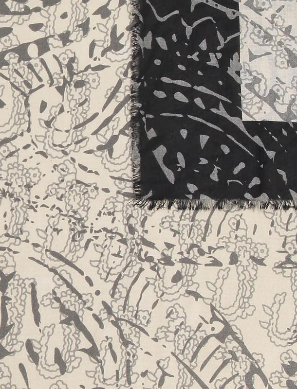 روسری طرح دار زنانه - دونابل