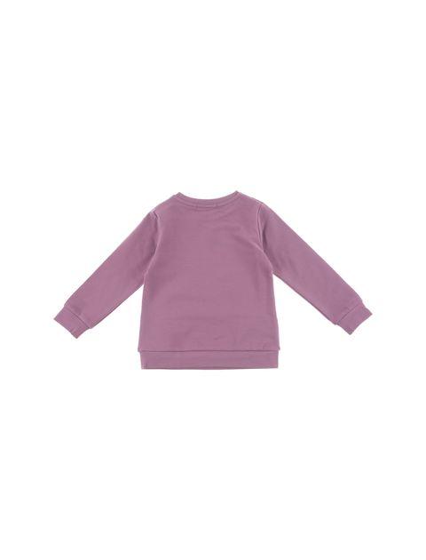 تی شرت نخی دخترانه - پیانو - صورتي  - 2