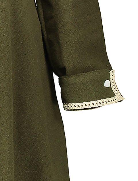 پالتو بلند زنانه - سبز - 5