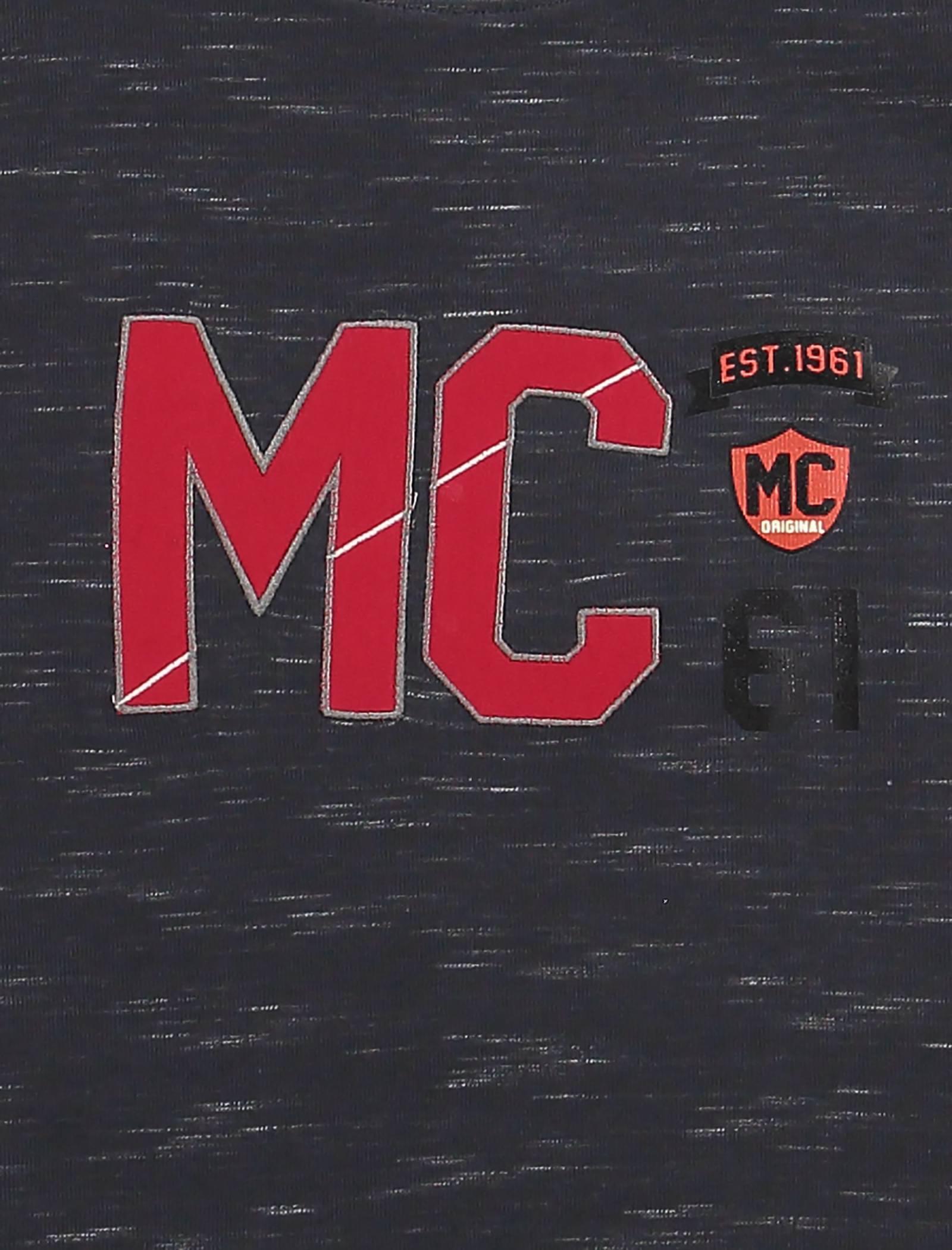تی شرت نخی آستین بلند پسرانه MC - تدی بیر - دودي  - 4