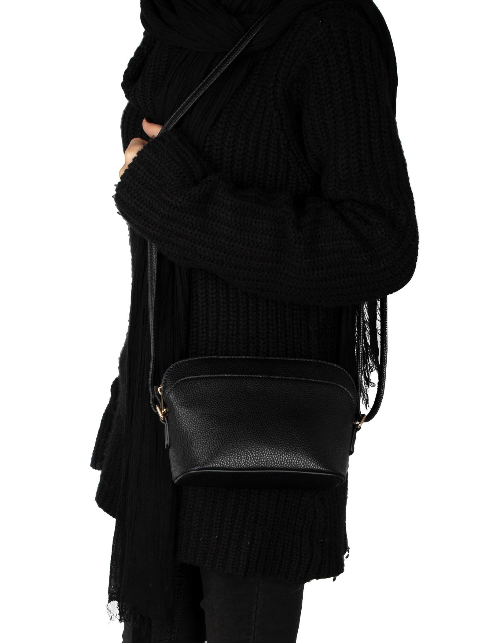 کیف دوشی روزمره زنانه - دادلین تک سایز - مشکي - 2