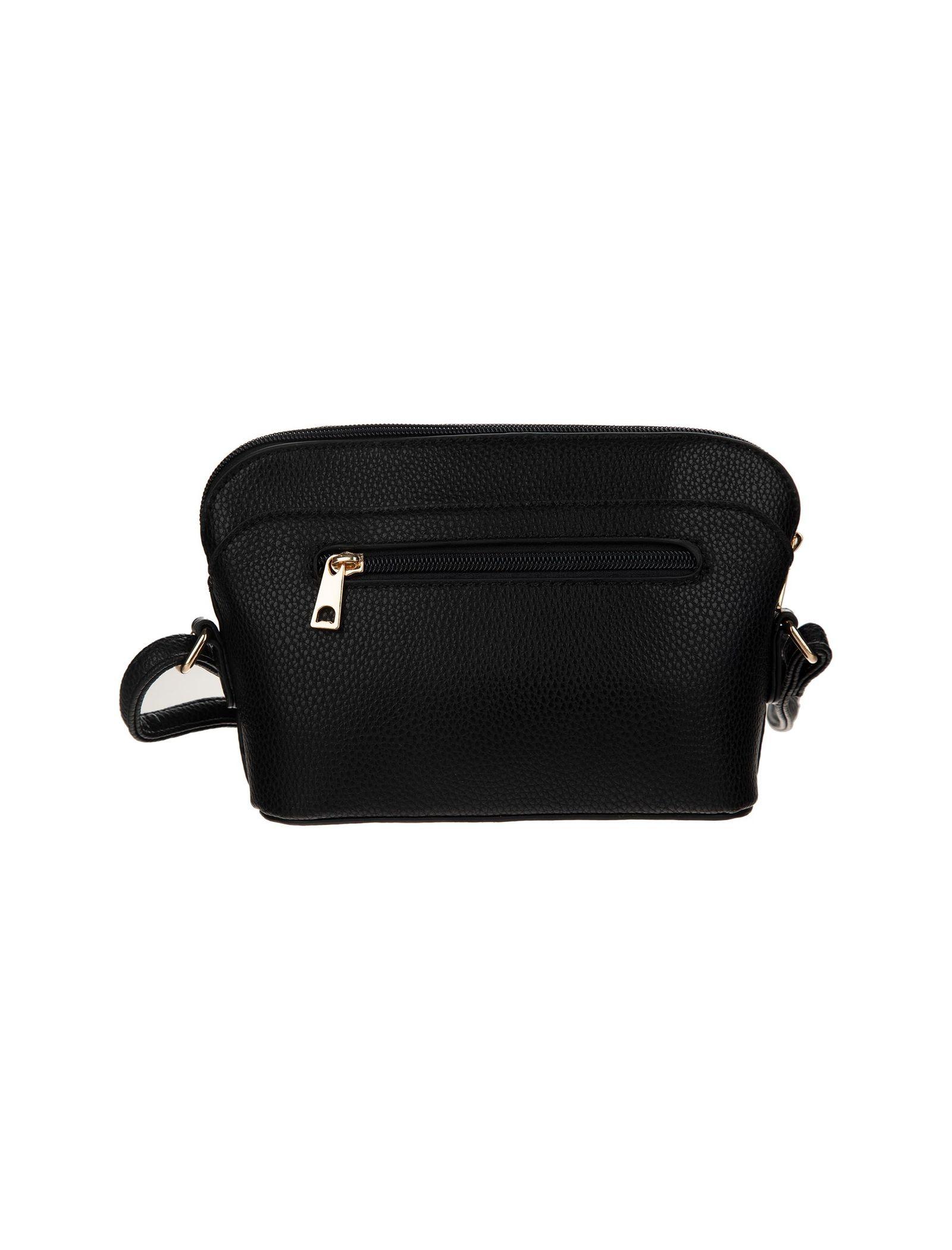 کیف دوشی روزمره زنانه - دادلین تک سایز - مشکي - 4