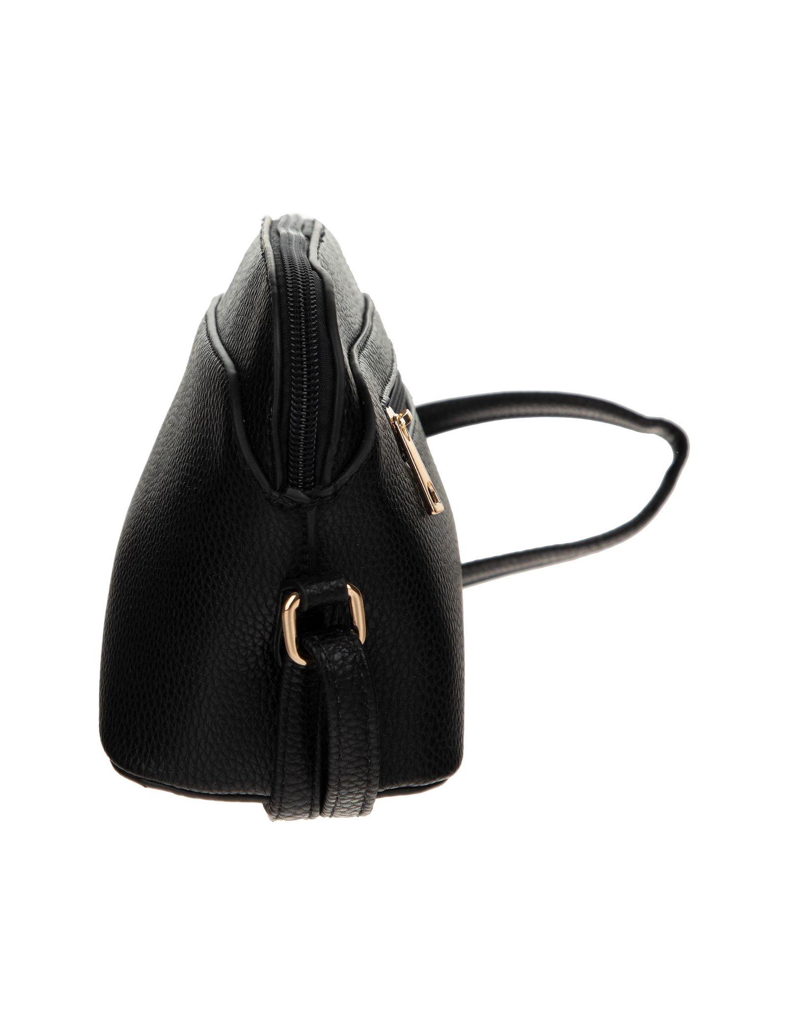 کیف دوشی روزمره زنانه - دادلین تک سایز - مشکي - 6