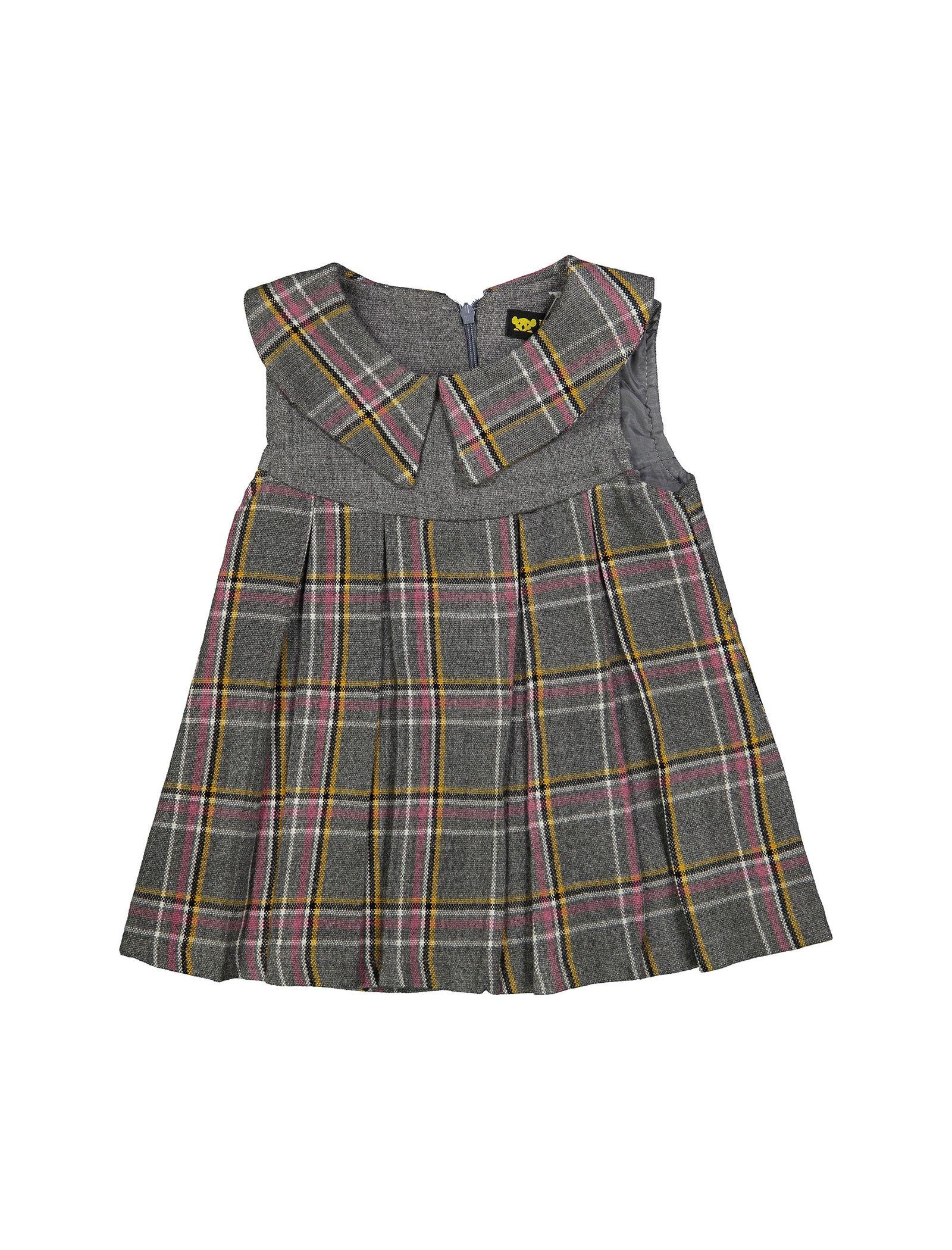 پیراهن روزمره دخترانه مدل 971 - تدی بیر - طوسي - 1