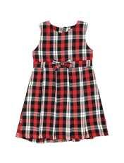 پیراهن روزمره دخترانه مدل 971 - تدی بیر - قرمز - 1