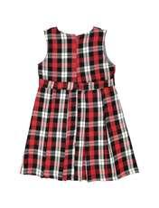 پیراهن روزمره دخترانه مدل 971 - تدی بیر - قرمز - 2