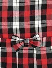 پیراهن روزمره دخترانه مدل 971 - تدی بیر - قرمز - 3