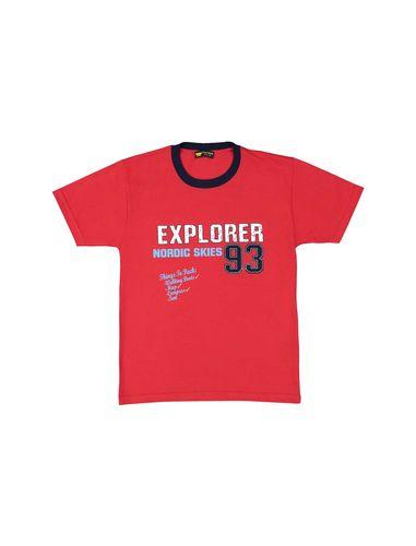 تی شرت نخی یقه گرد پسرانه 93