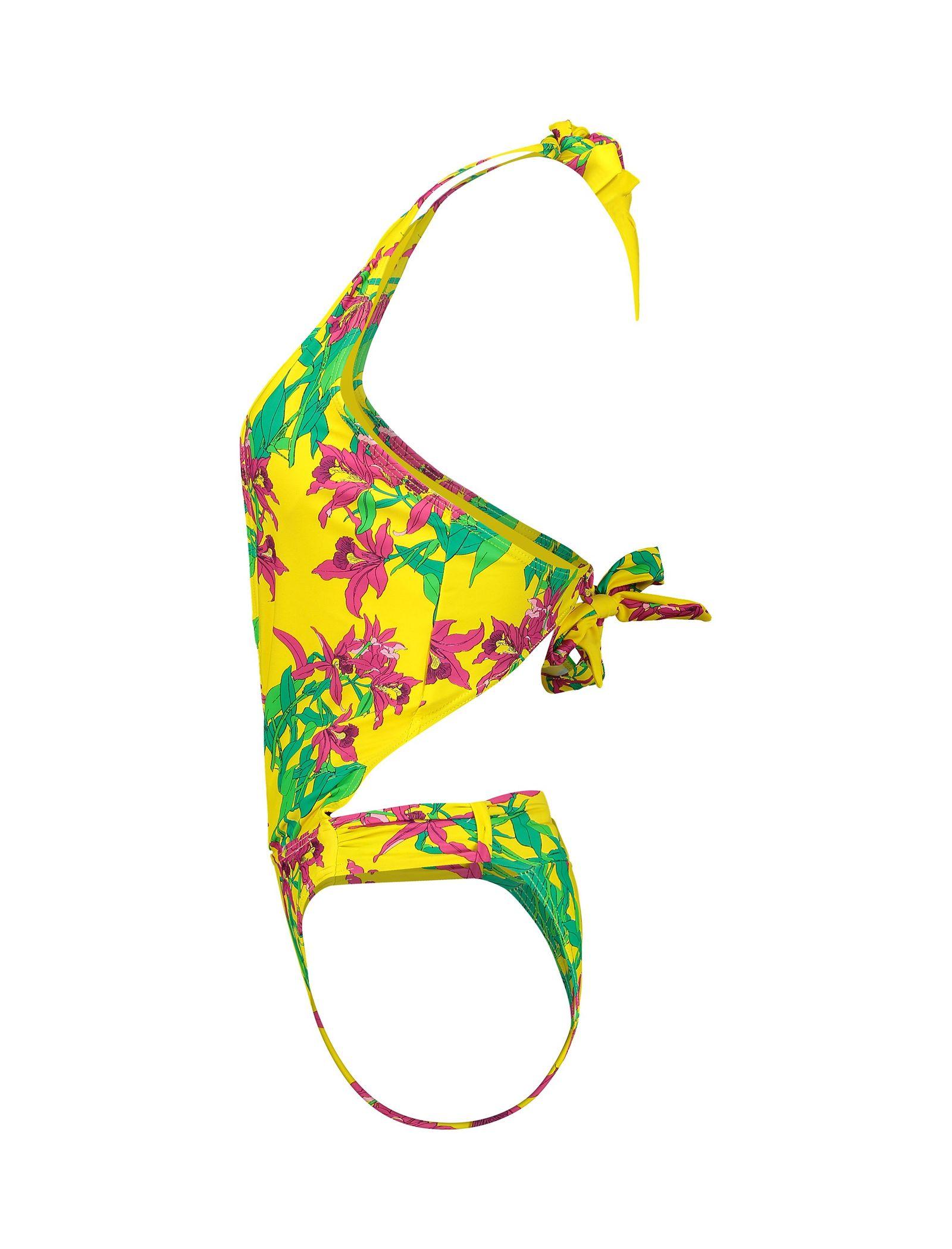 مایو یک تکه زنانه - ورو مدا - زرد - 3