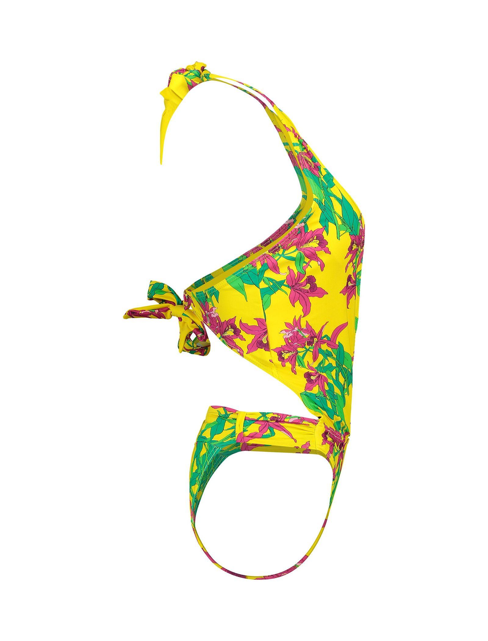 مایو یک تکه زنانه - ورو مدا - زرد - 4