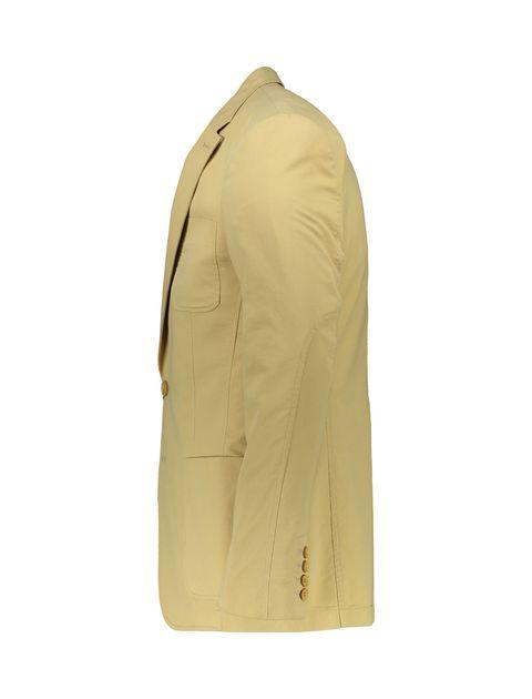 کت تک غیر رسمی مردانه - کرم - 2