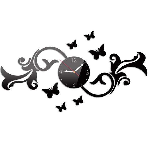 ساعت دیواری پدیده شاپ مدل Flora