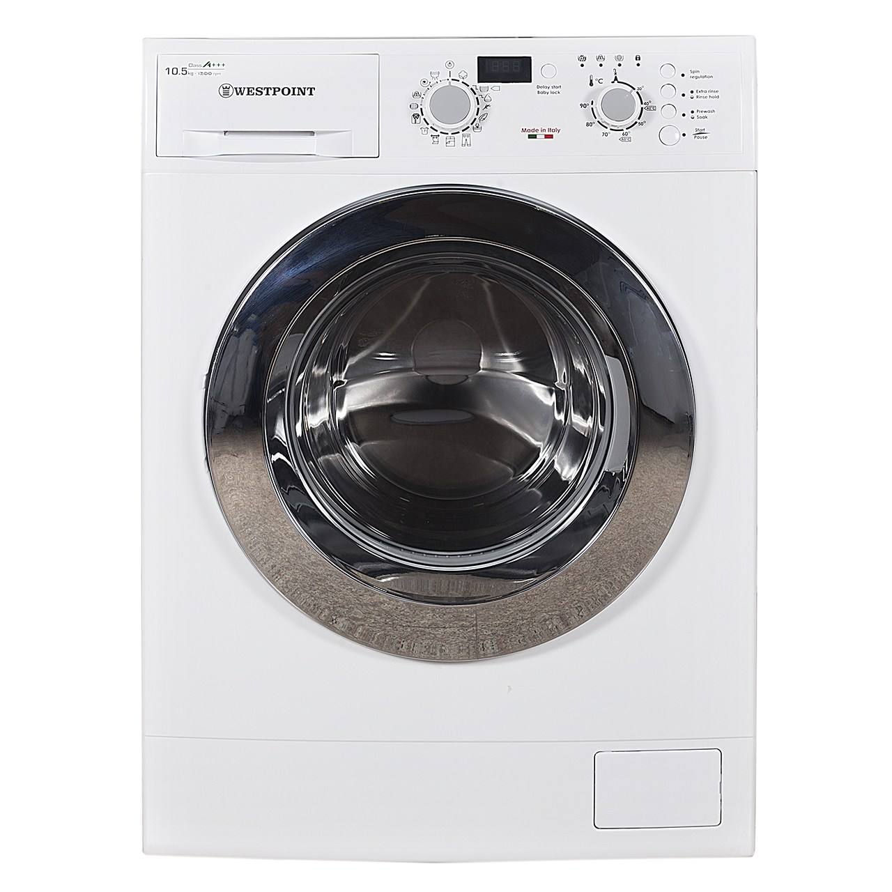 خرید                     ماشین لباسشویی وست پوینت مدل WMN101215ER ظرفیت 10.5 کیلوگرم