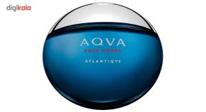 ادو تویلت مردانه بولگاری مدل Aqva Pour Homme Atlantiqve حجم 100 میلی لیتر  Bvlgari Aqva Pour Homme