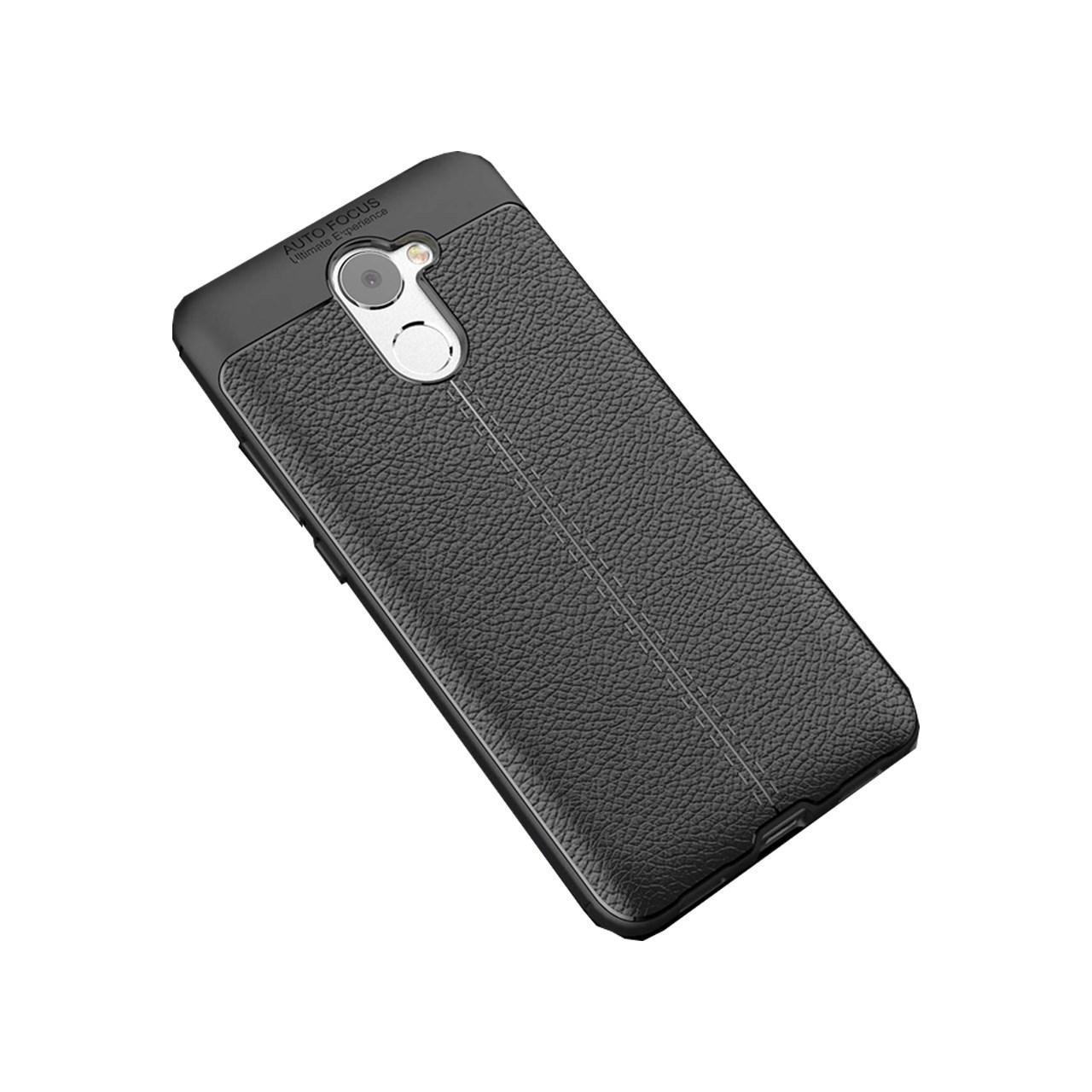 کاور ژله ای طرح چرم مناسب برای گوشی موبایل هوآوی Y7 Prime