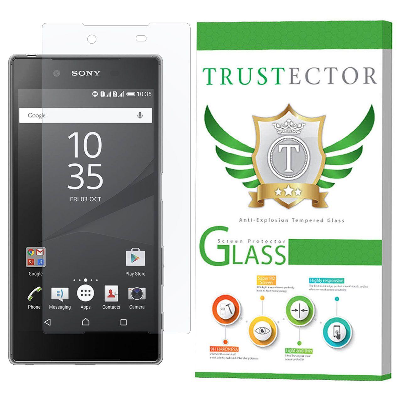 محافظ صفحه نمایش تراستکتور مدل SMP-T مناسب برای گوشی موبایل سونی Xperia Z5