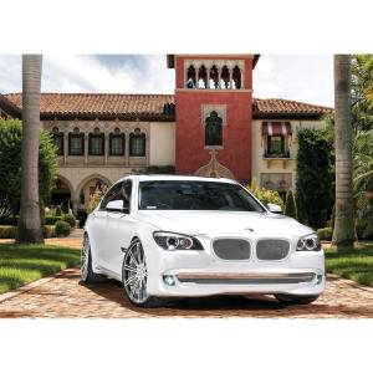 تابلو شاسی آکو طرح  BMW سایز 20×28 سانتی متر