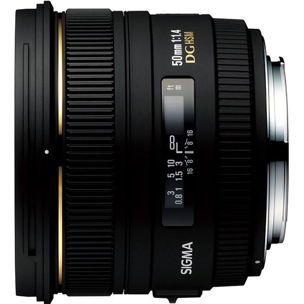 لنز سیگما 50mm f/1.4 EX DG HSM