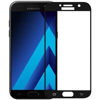 محافظ صفحه نمایش شیشه ای تمپرد مدل Colorful Full Cover مناسب برای گوشی موبایل سامسونگ Galaxy A3 2017