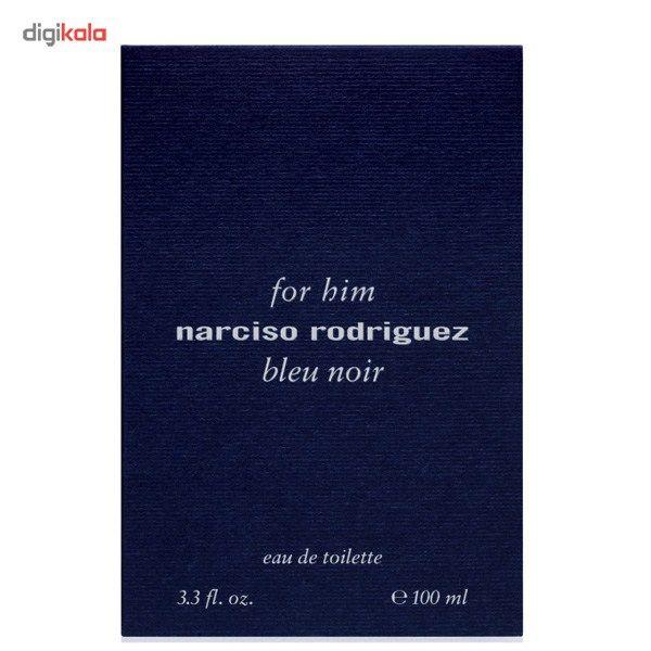 ادو تویلت مردانه نارسیسو رودریگز مدل Narciso Rodriguez for Him Bleu Noir حجم 100 میلی لیتر