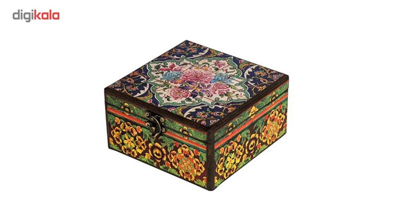 جعبه جواهرات گره طرح کاشی
