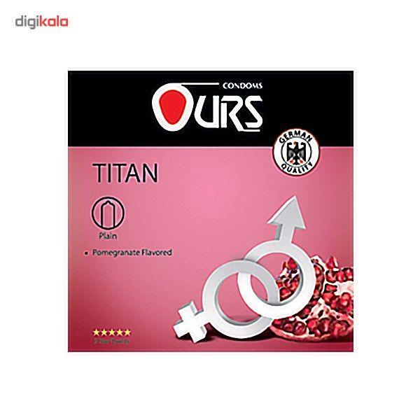 کاندوم ساده اورز مدل Titan بسته 3 عددی main 1 1