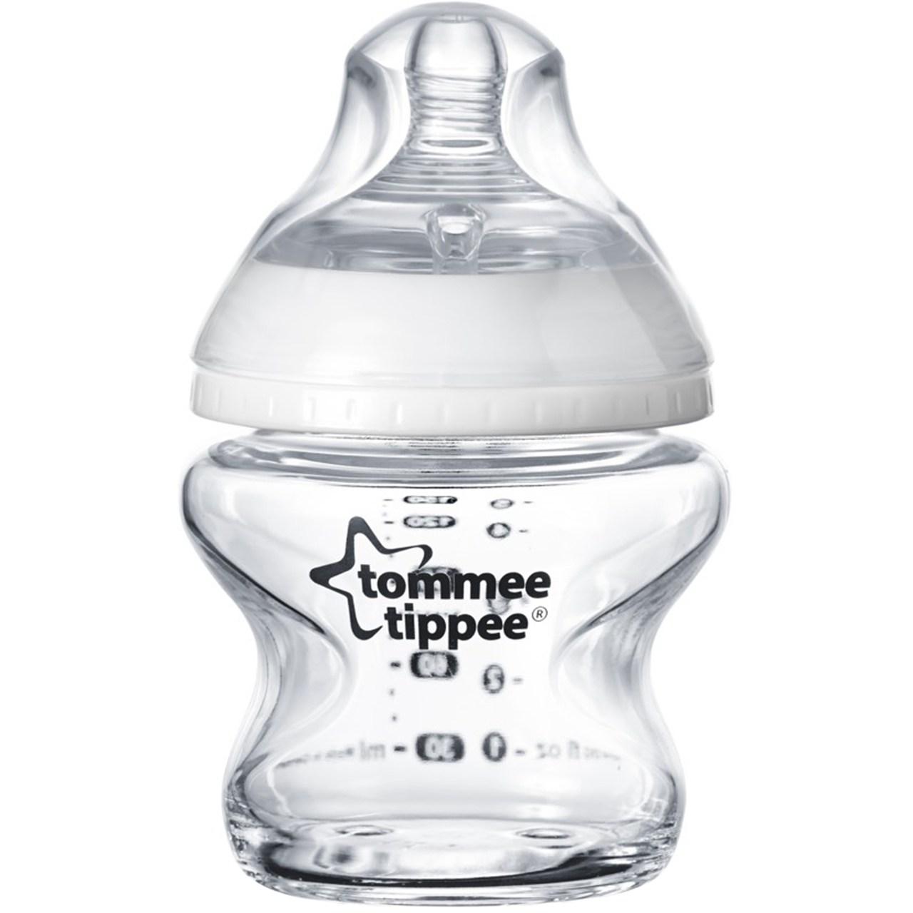 شیشه شیر تامی تیپی مدل 42243777 ظرفیت 150 میلی لیتر