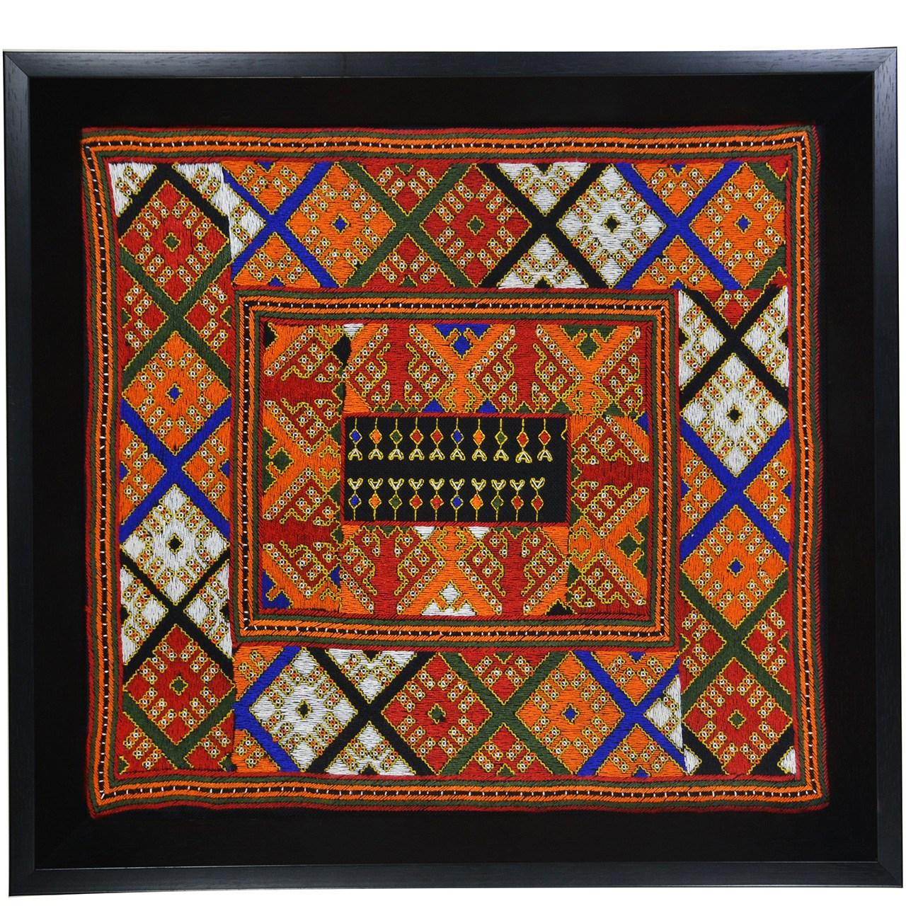 تابلو سوزن دوزی کارگاه نوروزی کد 1002