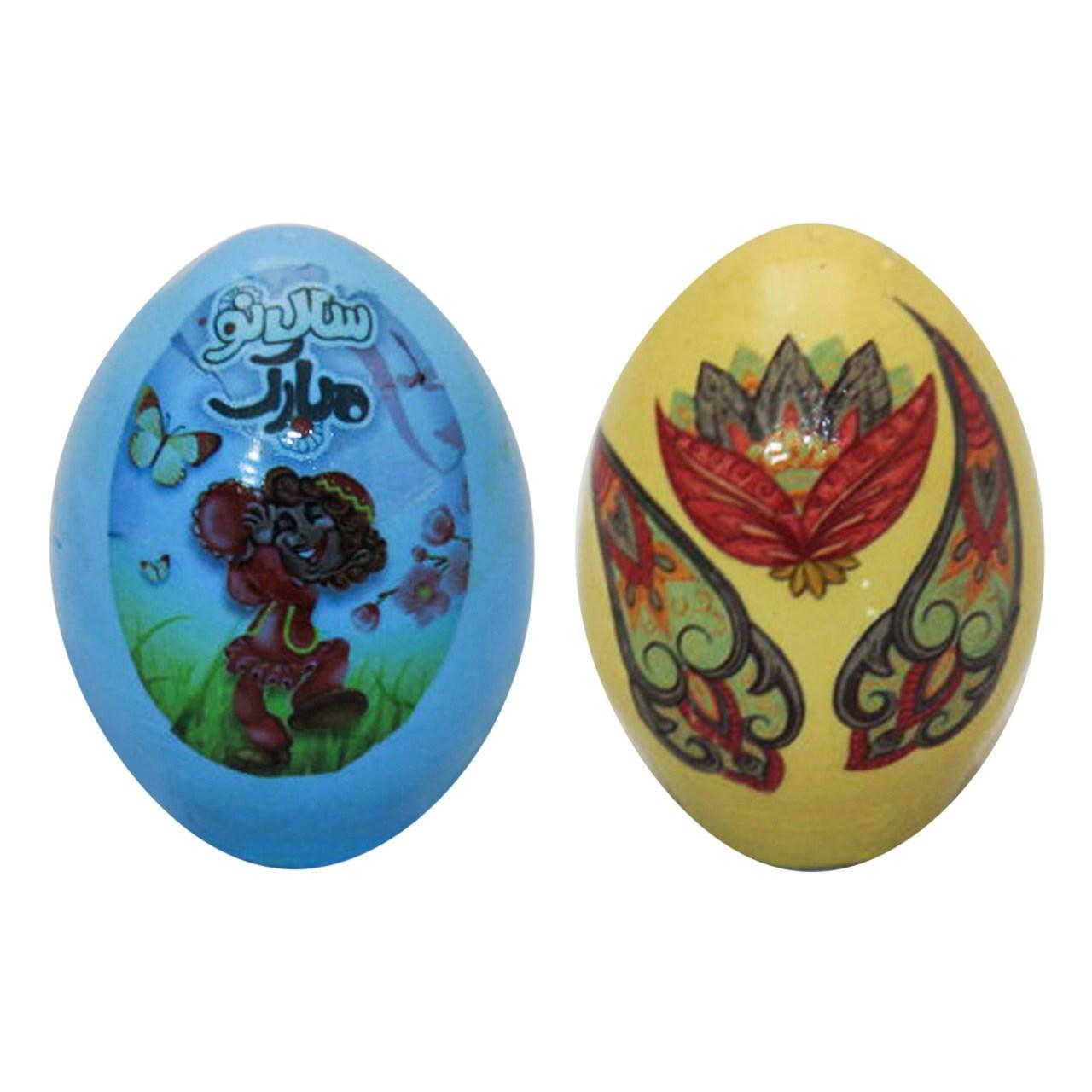 تخم مرغ تزیینی هفت سین آرت گالری مدل A3088 بسته 2عددی