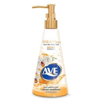 مایع دستشویی کرمی اوه مدل Milk And Honey مقدار 400 گرم