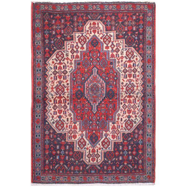 فرش قدیمی یک متری فرش هریس کد 102048
