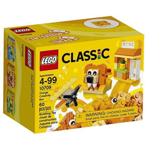 لگو سری Classic مدل Orange Creativity Box 10709