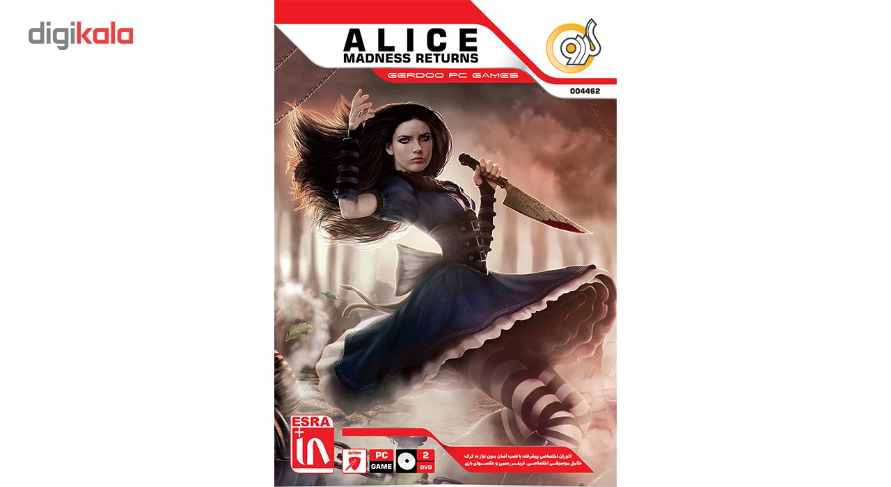 خرید اینترنتی بازی Alice Madness Returns مخصوص PC اورجینال