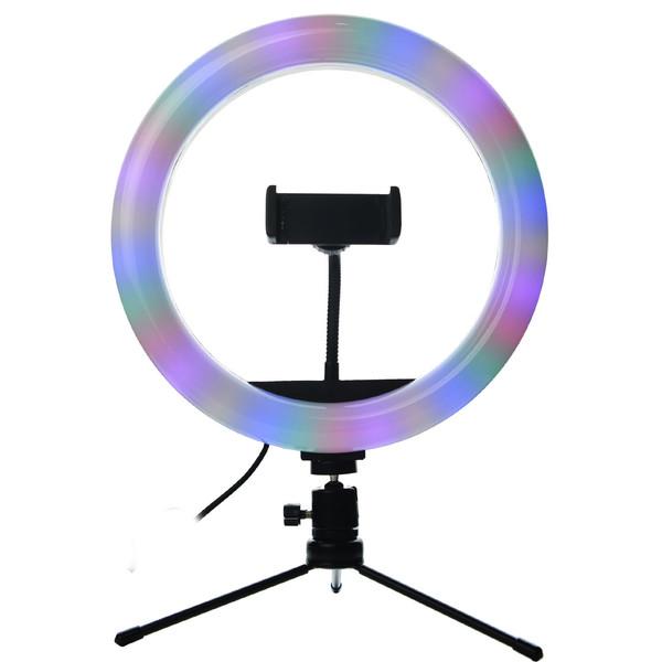 رینگ لایت مدل MJ26-RGB