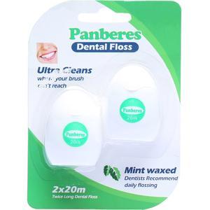 نخ دندان پنبه ریز مدل Mint Waxed بسته 2 عددی