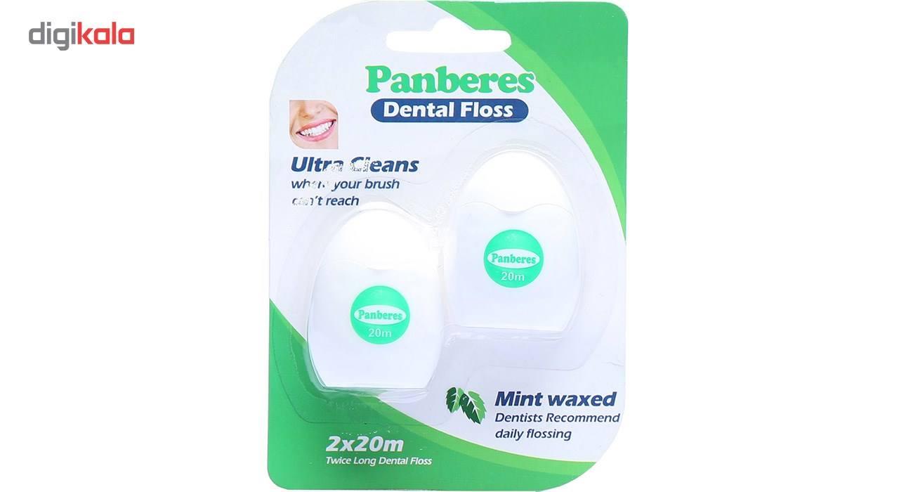 نخ دندان پنبه ریز مدل Mint Waxed بسته 2 عددی main 1 1