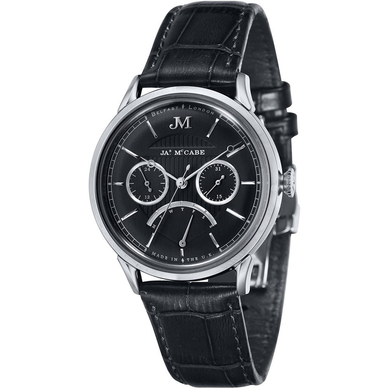 ساعت مچی عقربه ای مردانه جیمز مک کیب مدل JM-1026-01