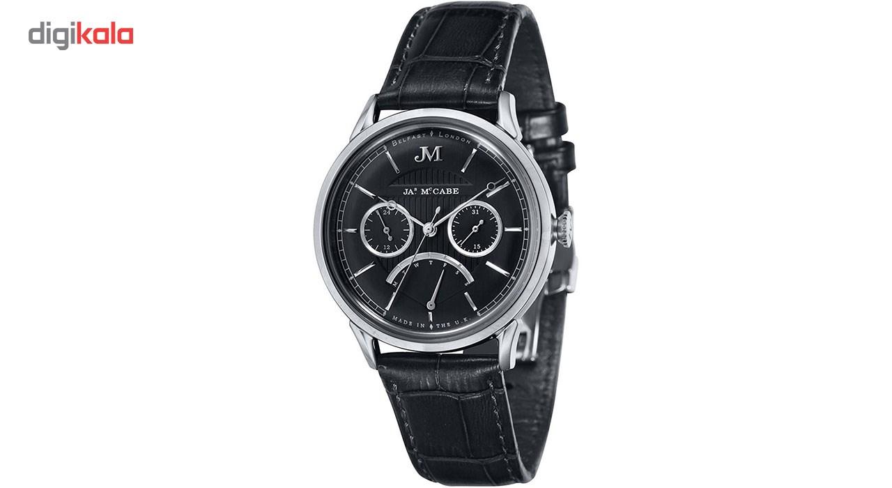 خرید ساعت مچی عقربه ای مردانه جیمز مک کیب مدل JM-1026-01